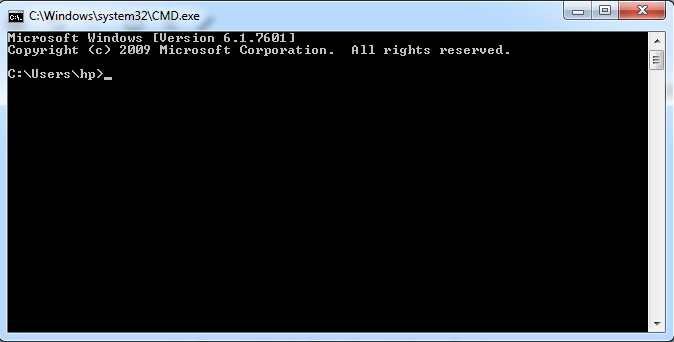DNS by Command Prompt