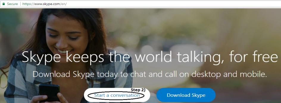 skype conversastion